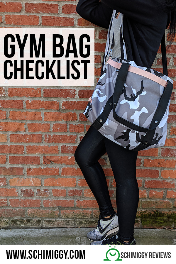 what to bring to the gym bag checklist schimiggy reviews
