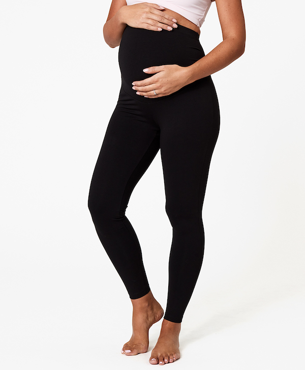 Pact Maternity Go-To Legging Black