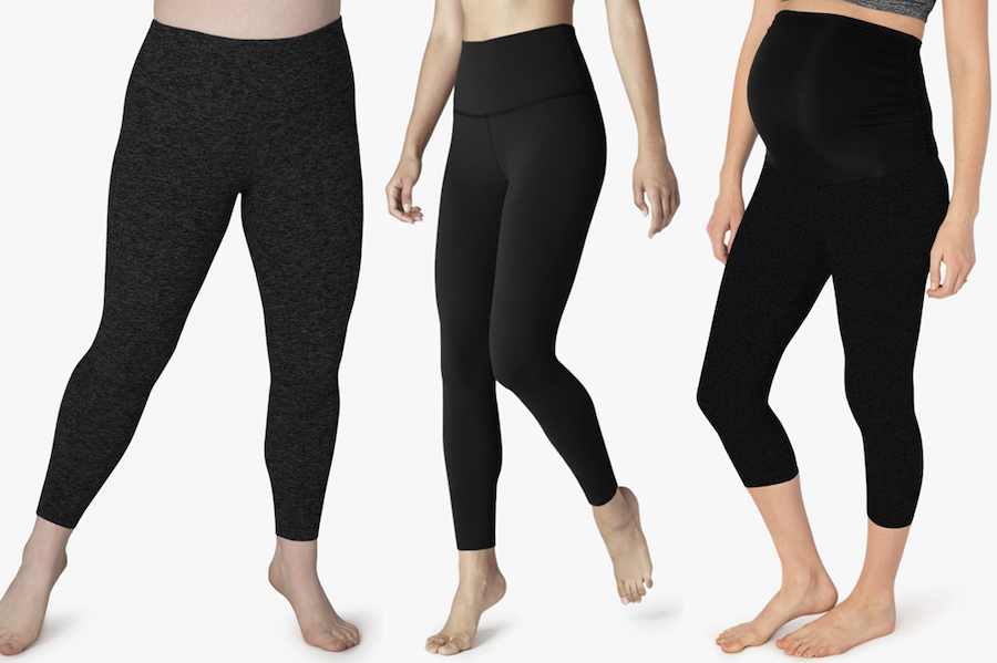 beyond yoga space dye leggings in black schimiggy reviews