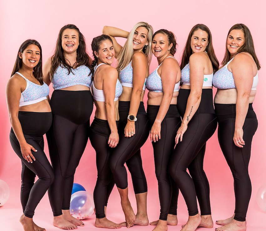 cadenshae maternity activewear and leggings
