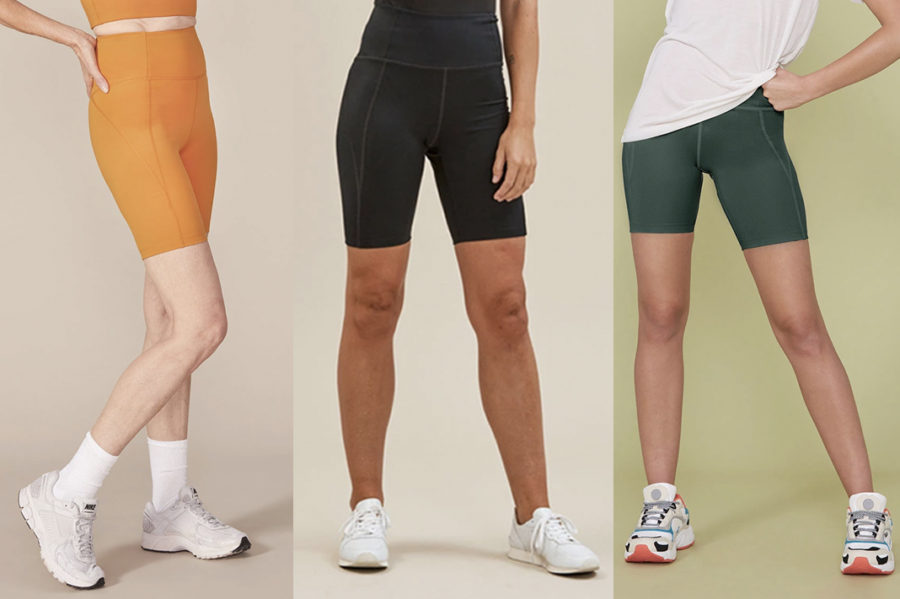 girlfriend collective biker shorts and discount code