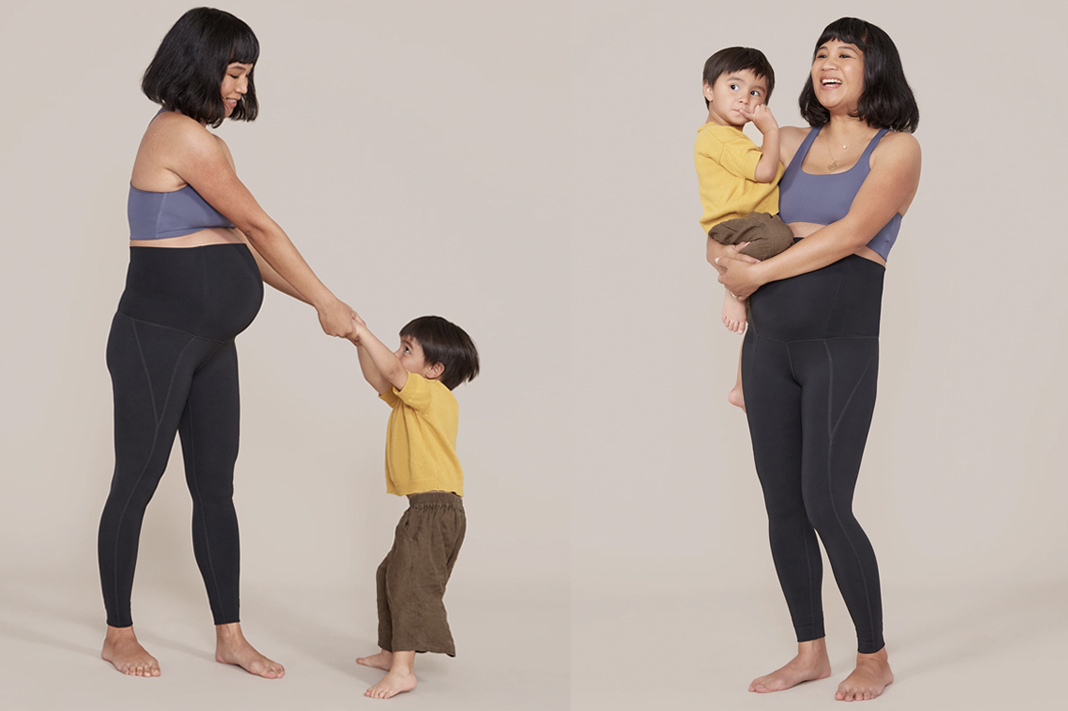 girlfriend collective maternity leggings
