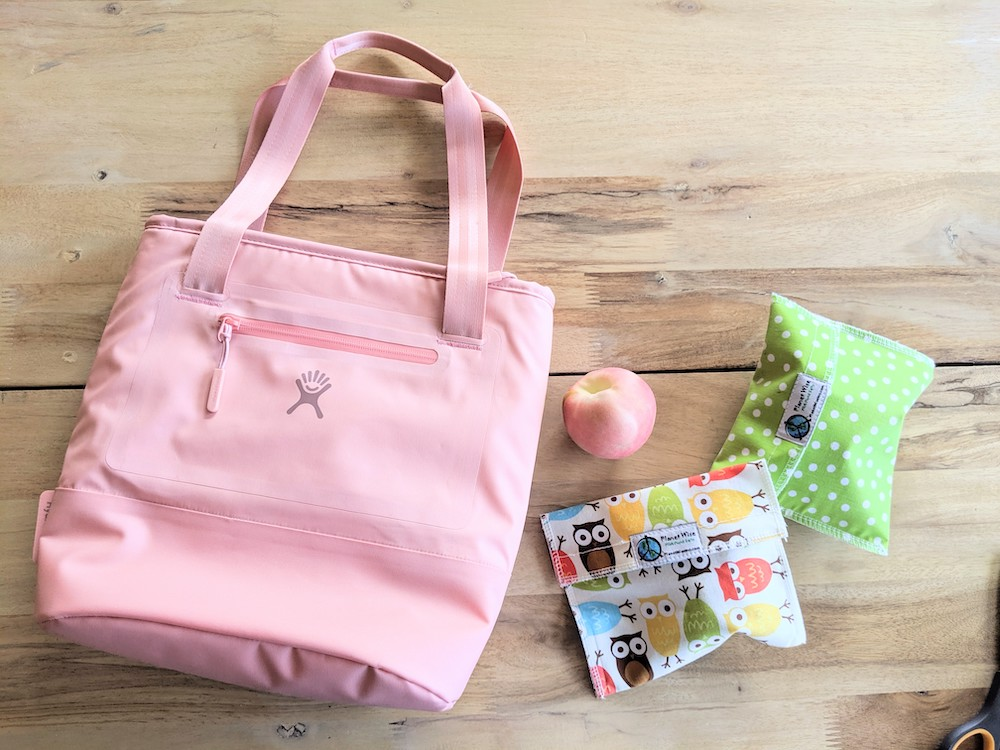 hydro flask insulated lunch tote 8L in grapefruit pink