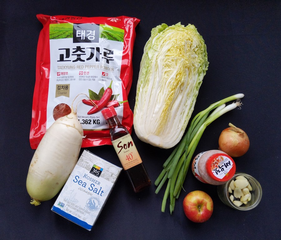 ingredients to make kimchi recipe schimiggy reviews