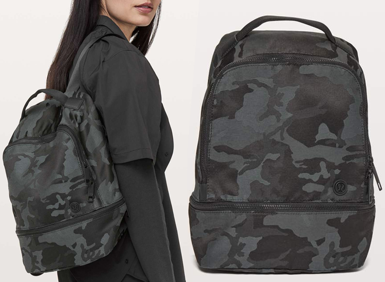 lululemon City Adventurer Backpack 17L Incognito Camo Multi Grey ICMI