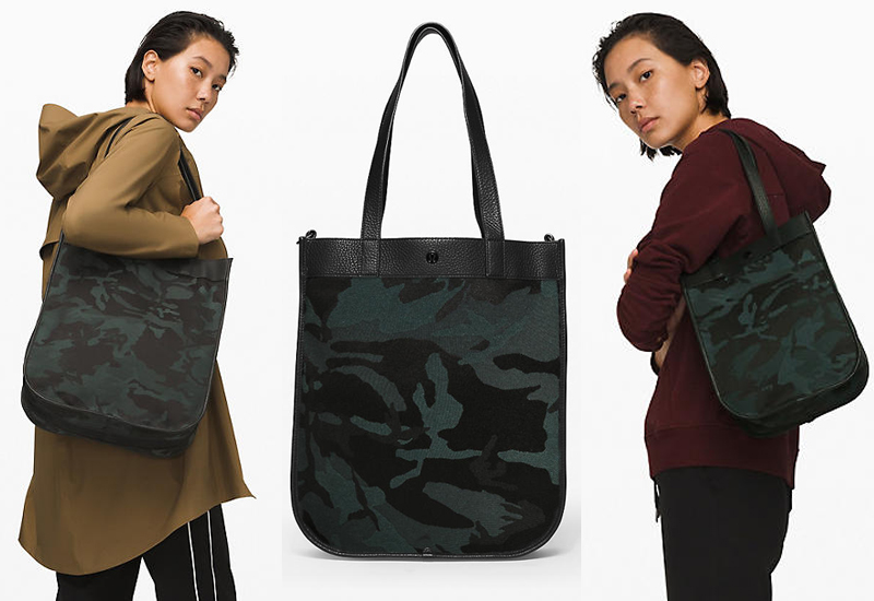 lululemon Now and Always Tote in Jacquard Camo