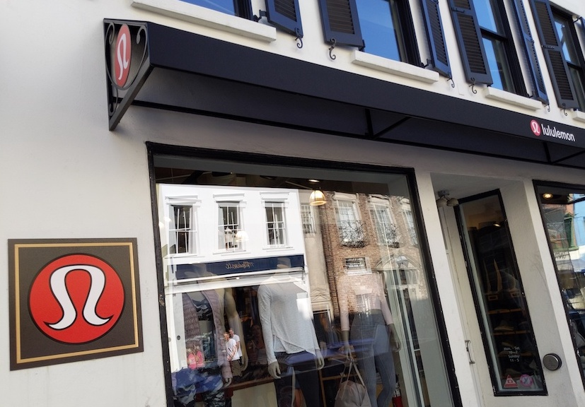 lululemon charleston sc store front entrance