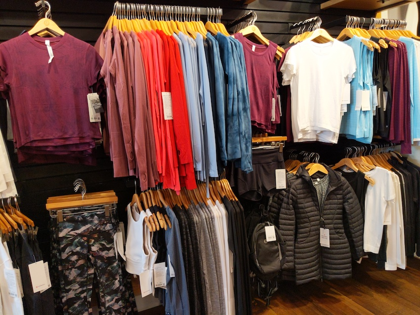 lululemon charleston sc store womens tops