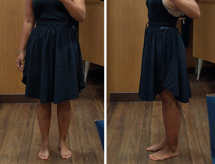 lululemon everywhere skirt review black schimiggy