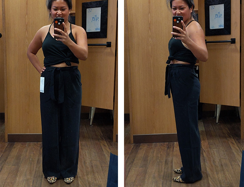 lululemon noir pants try on and review schimiggy
