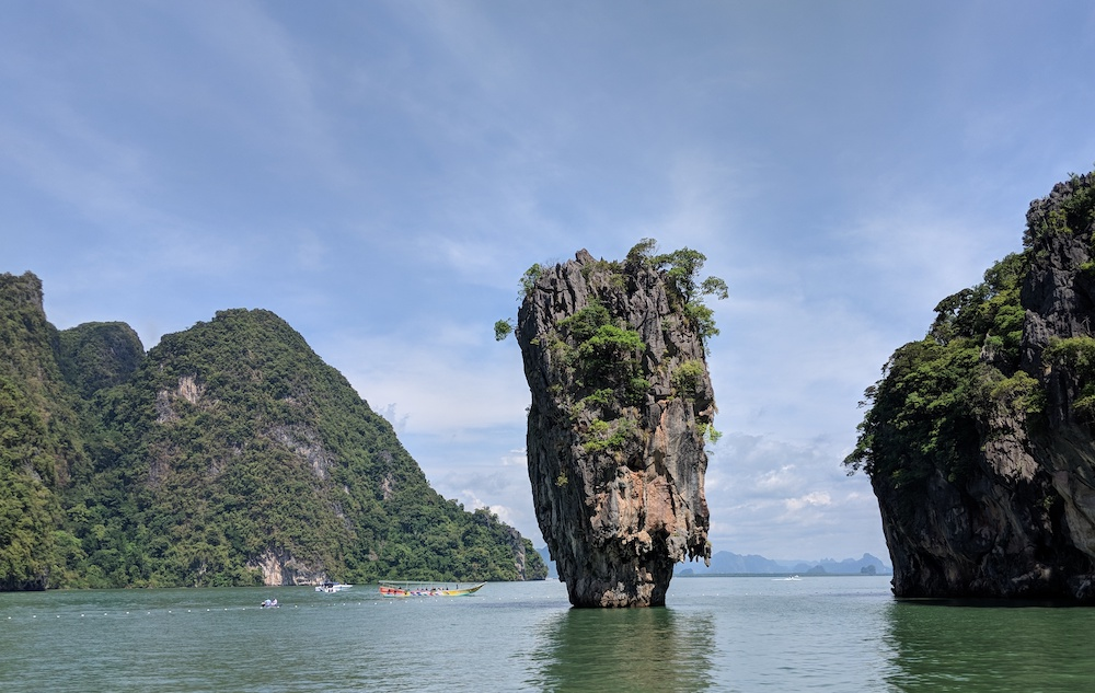 phuket thailand james bond island cheap travel destination