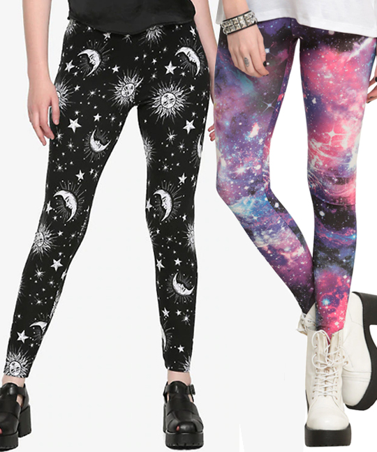 yoga products for teens printed fun leggings