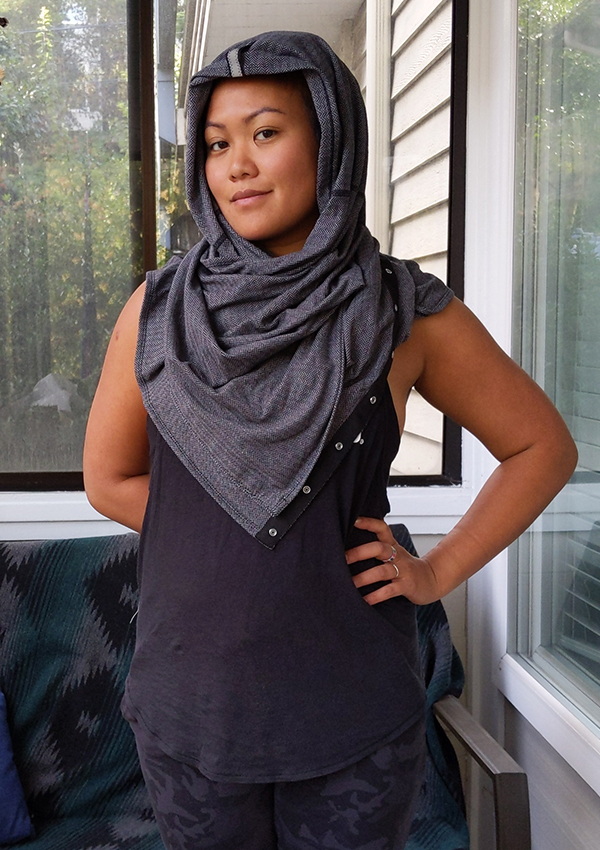 How to Wear lululemon Vinyasa Scarf Helmet
