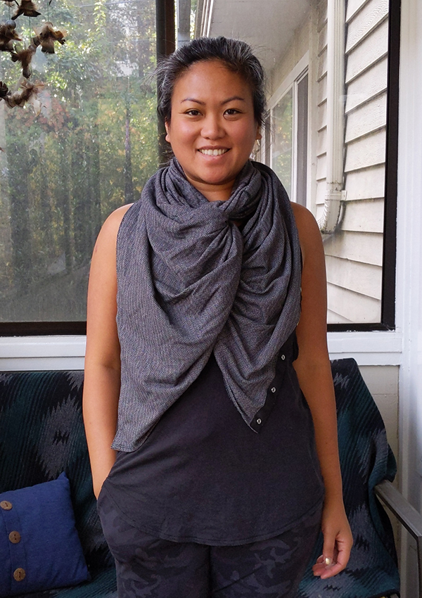 How to Wear lululemon Vinyasa Scarf Twist Front Dangle