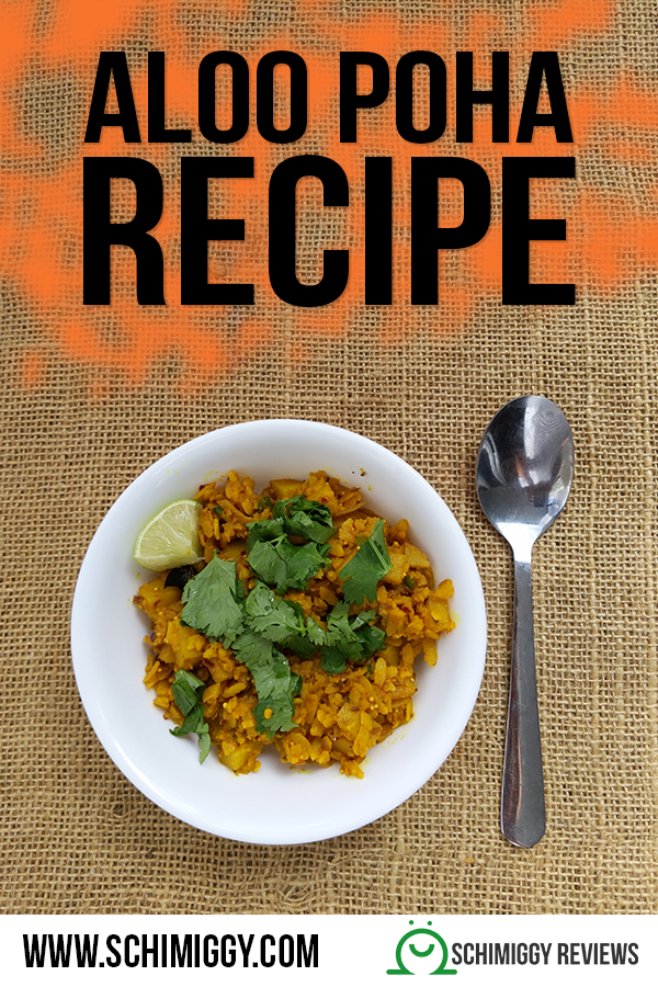 Aloo Poha Vegan Indian Breakfast Recipe