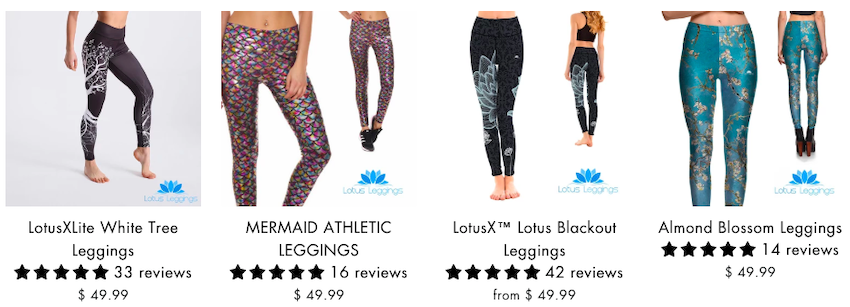 lotus leggings are overpriced and counterfeit
