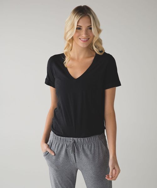 lululemon love tee black schimiggy reviews