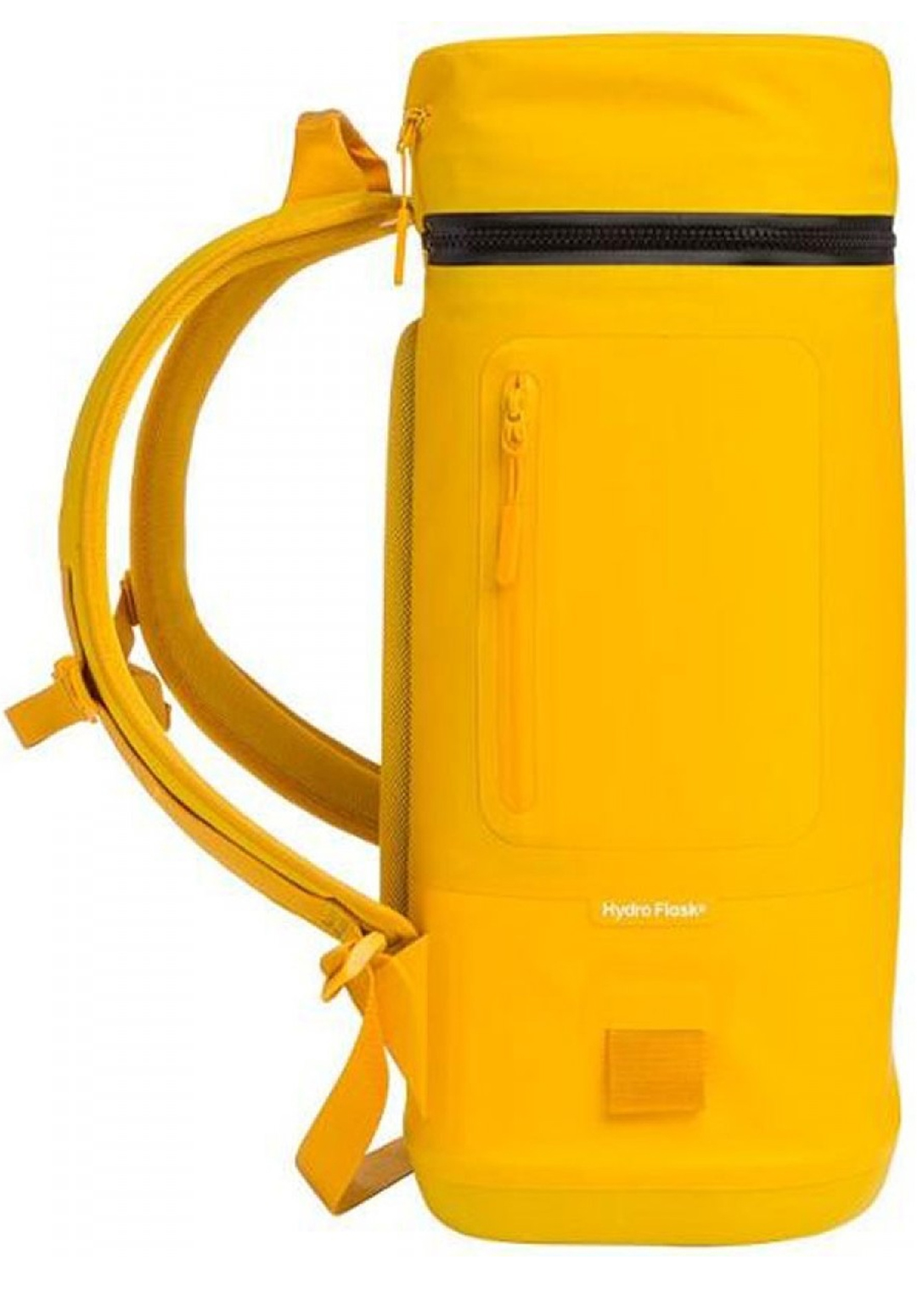 Hydro Flask Unbound Cooler Backpack 22L Goldenrod Yellow side
