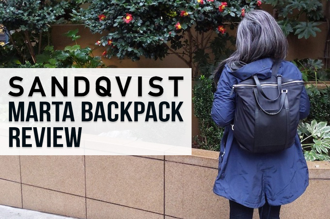Sandqvist Marta Backpack Review | Schimiggy