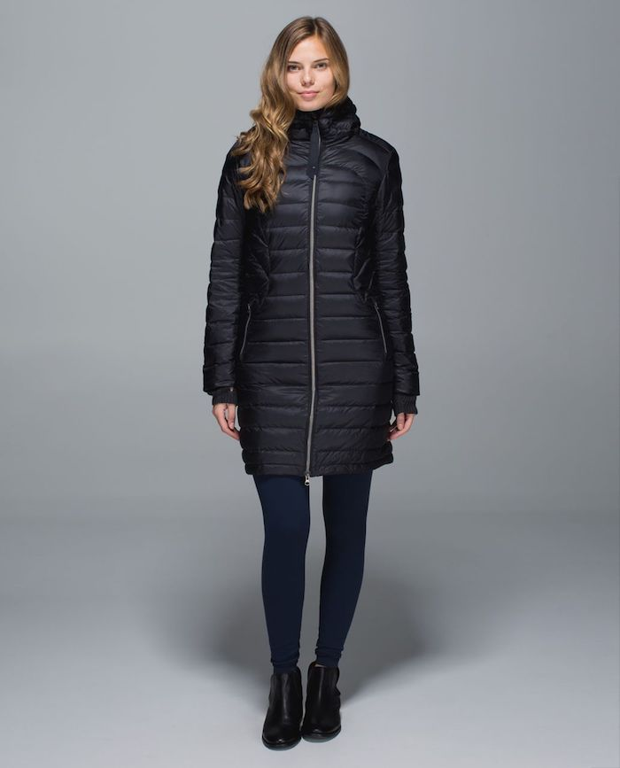 lululemon 1x A Lady Black Coat Puffy | Schimiggy
