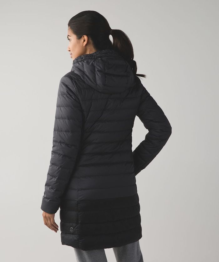 lululemon 1x A Lady Coat Black Back | Schimiggy Reviews