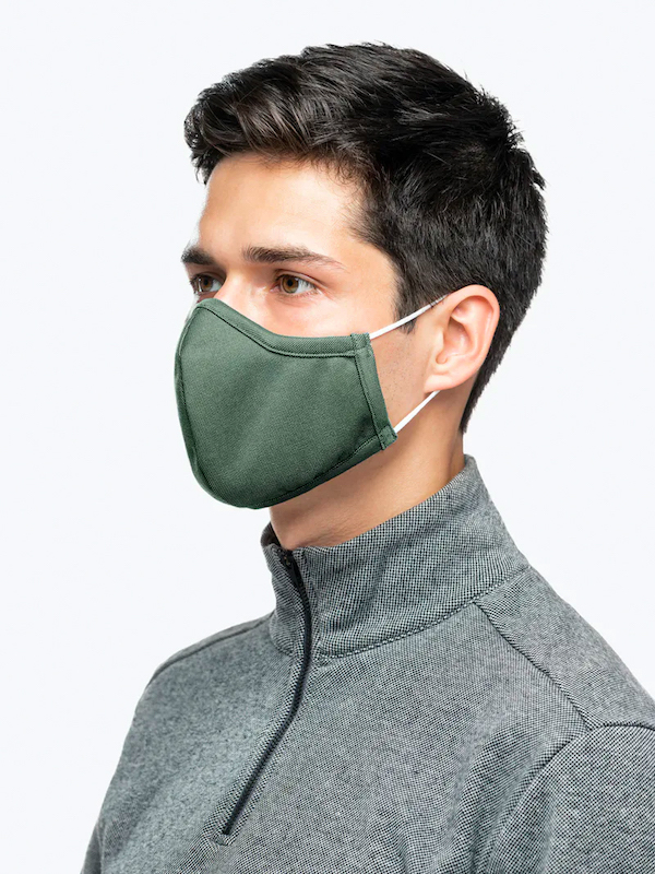 Ministry of Supply Apollo Face Mask Green