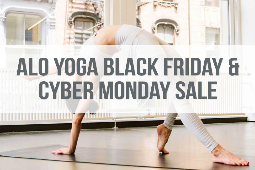 alo yoga black friday and cyber monday sale 2019