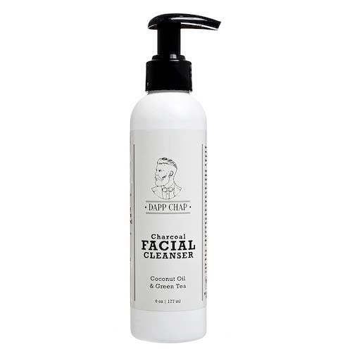 dapp chap charcoal facial cleanser