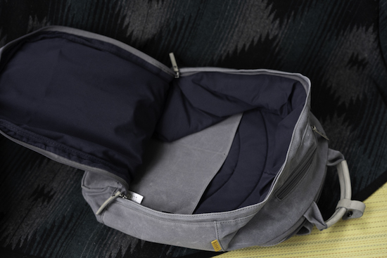 main compartment of day owl backpack