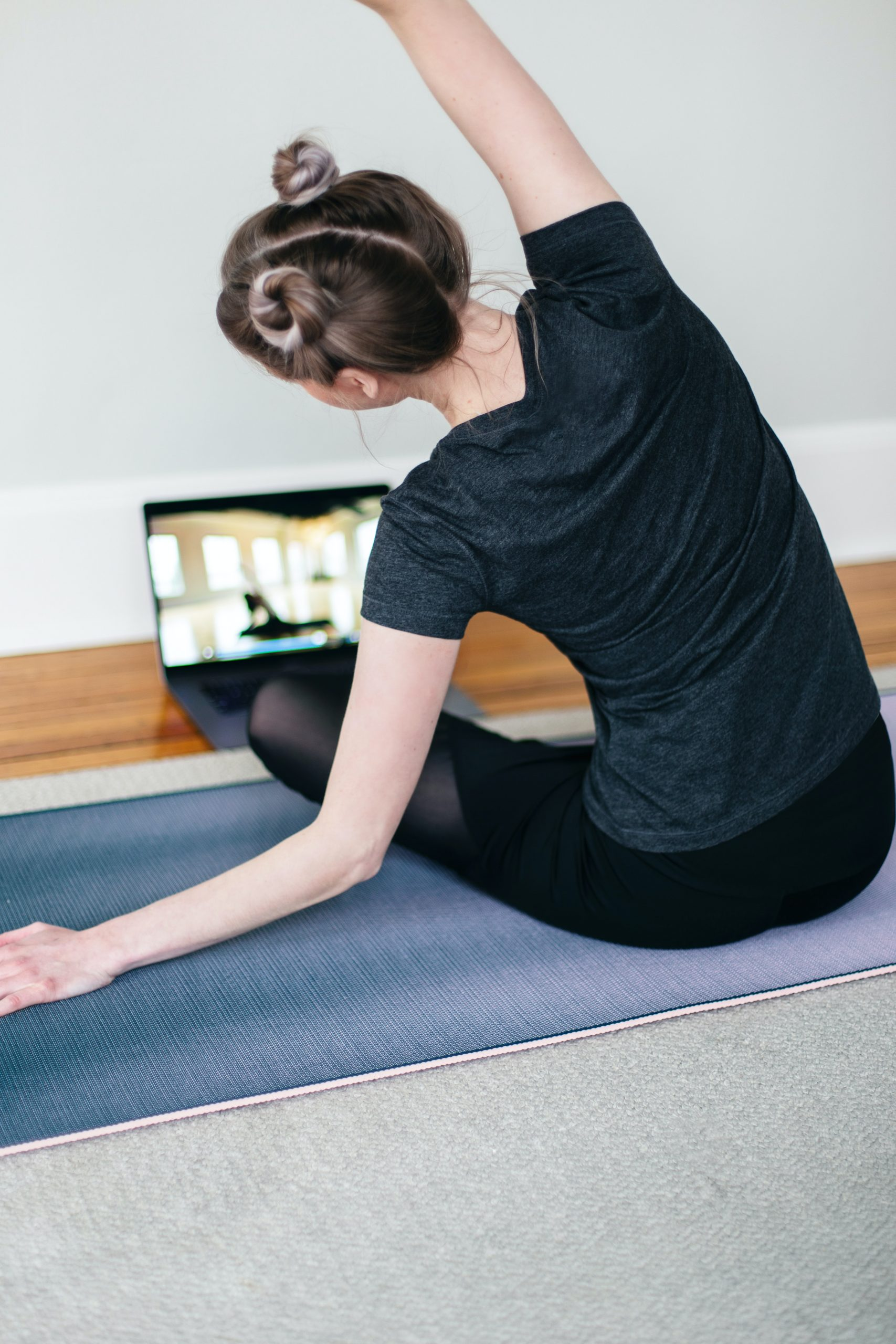 yoga at home with online classes
