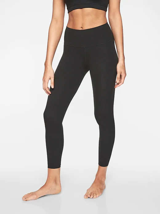 athleta 7:8 elation tights powervita fabric