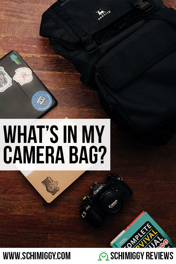 What is In My Camera Bag Schimiggy