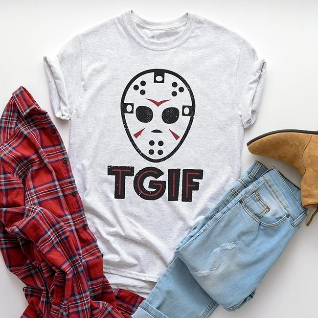 alley and rae TGIF t-shirt jason vorhees
