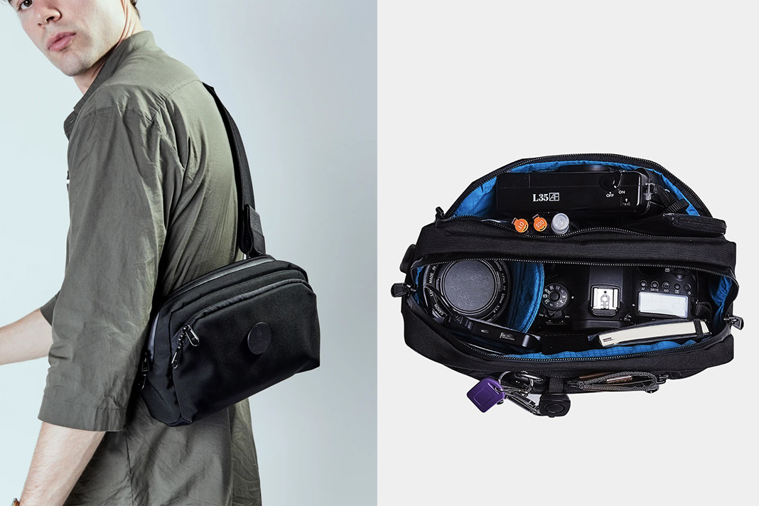 alpaka go sling pro slim camera bag