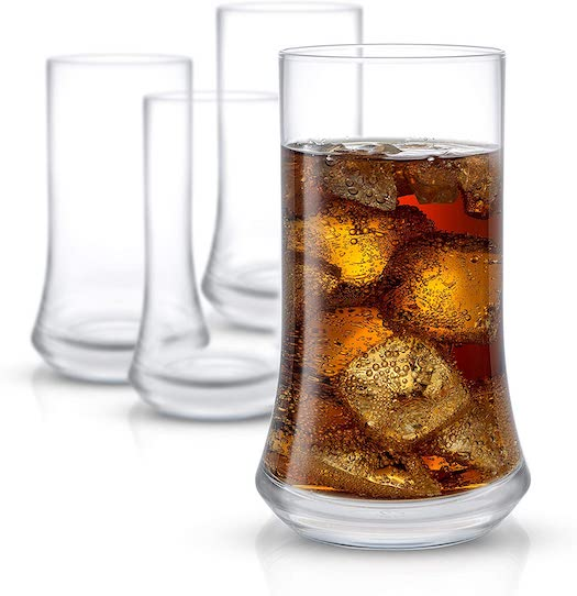JoyJolt Cosmos Highball Glasses