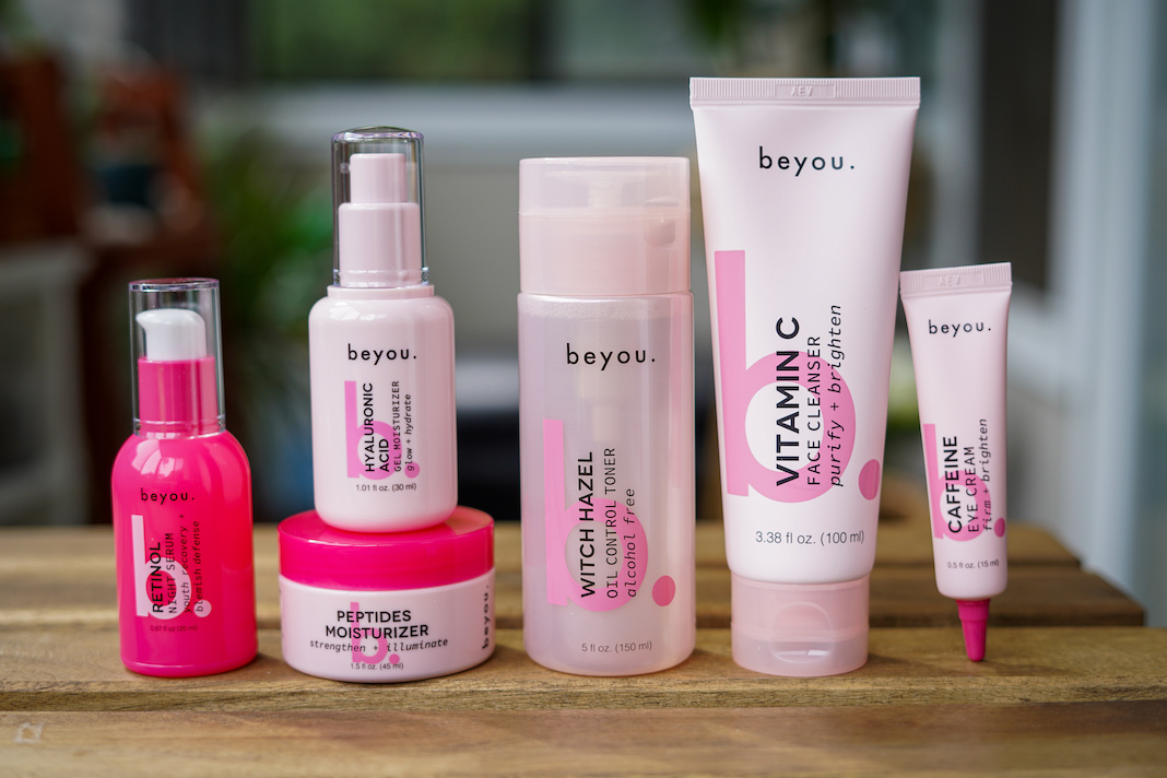 beyou skincare collection review