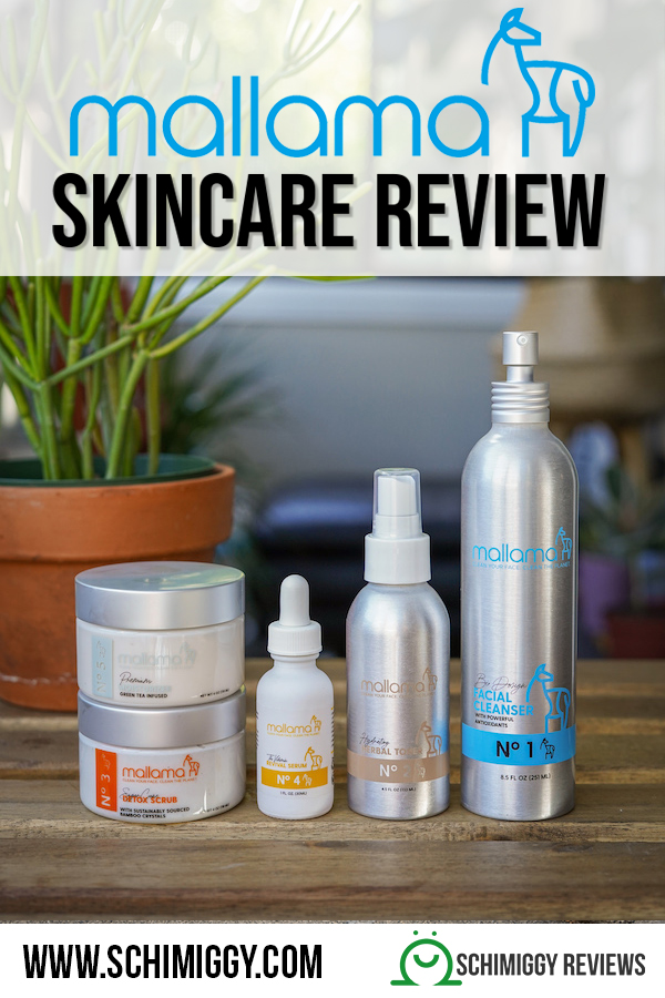 mallama skincare review schimiggy