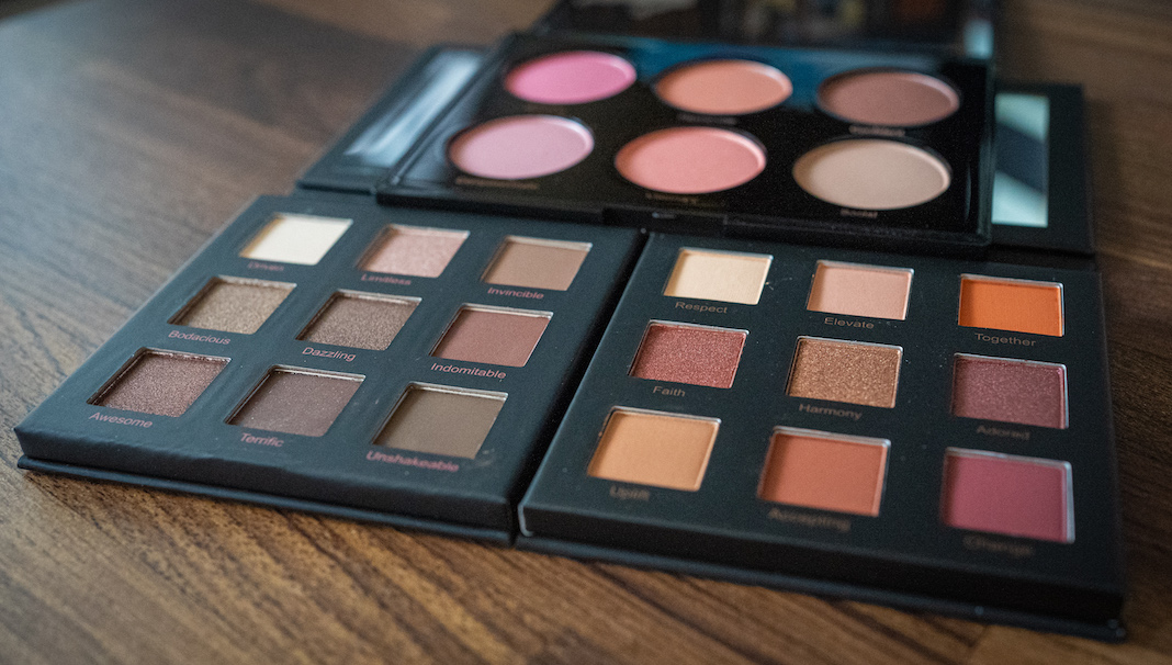 realher makeup review eye shadow and blush