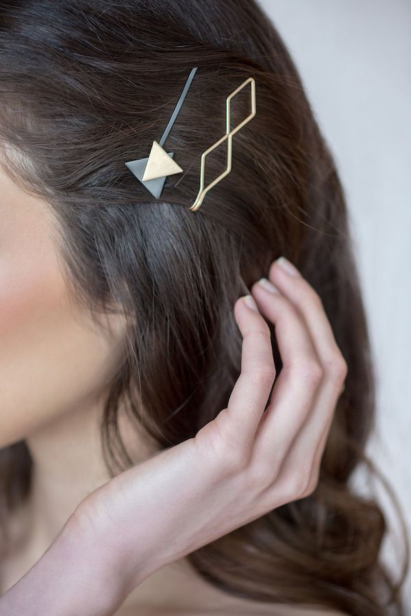 The HAIR edit Geometric Hair Clips