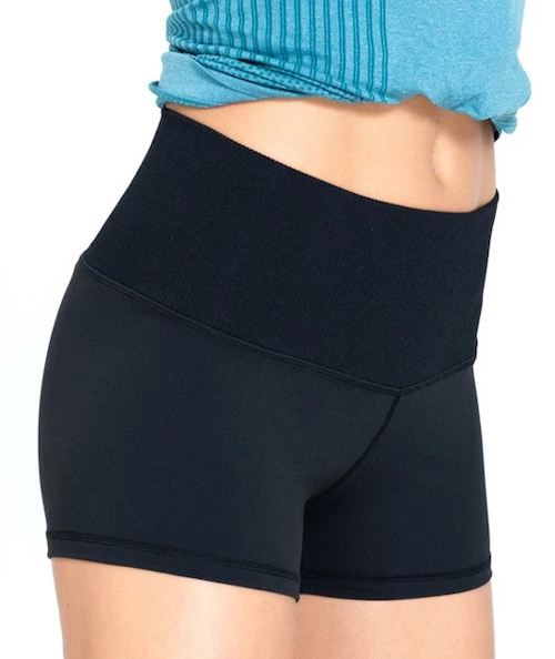 Astoria Seamless Shorts Black
