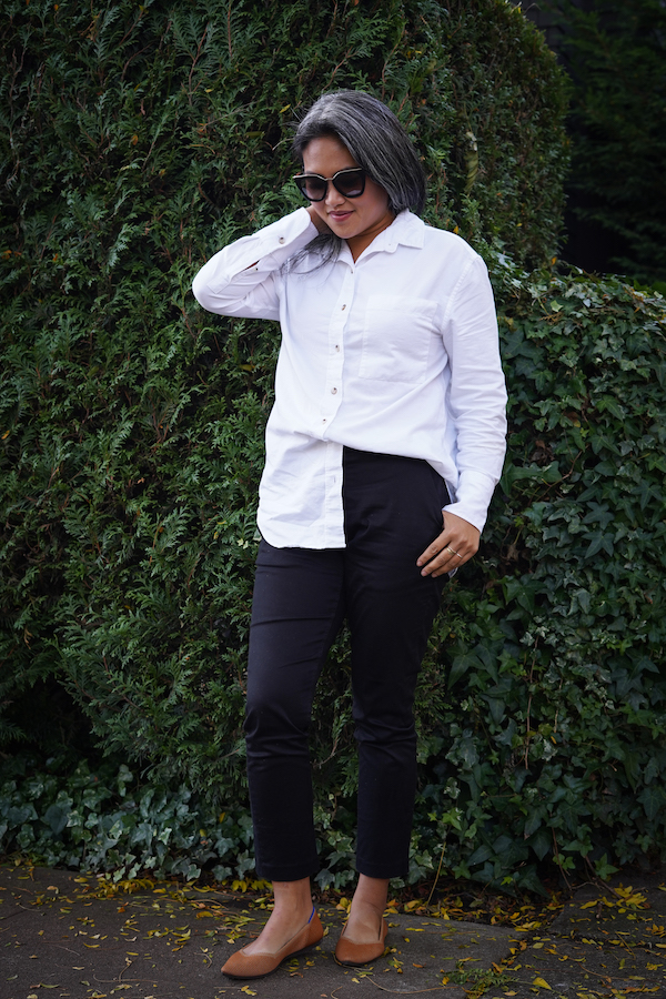 KOTN Review Oversized Oxford Shirt Slim Trousers half tuck