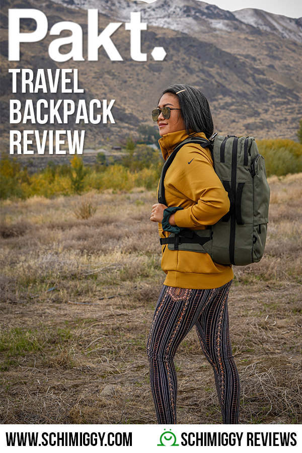 PAKT Review Travel Backpack Schimiggy