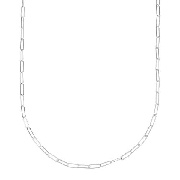 Silpada the Long Way Necklace Silver Chain Link