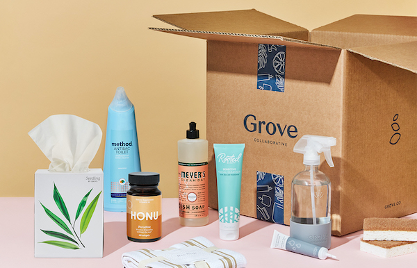 Grove Collaborative all-natural cleaners subscription