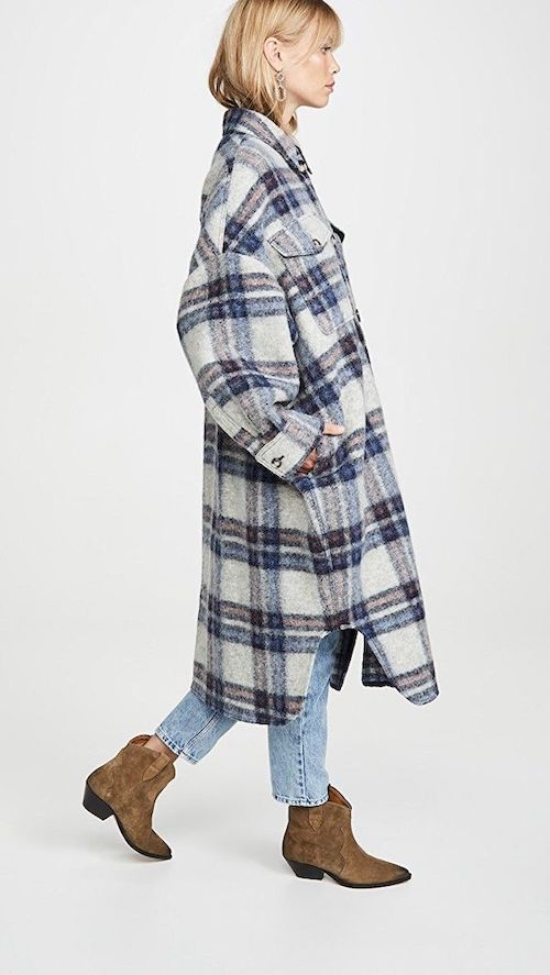 Isabel Marant Gabrion Shirt Jacket Shacket Coat