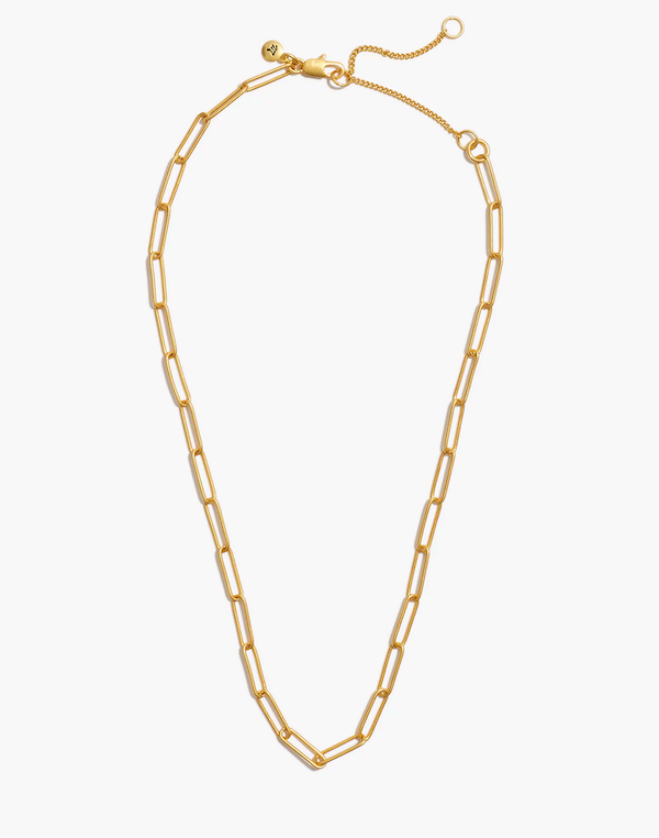 Madewell Vintage Chain Necklace Gold