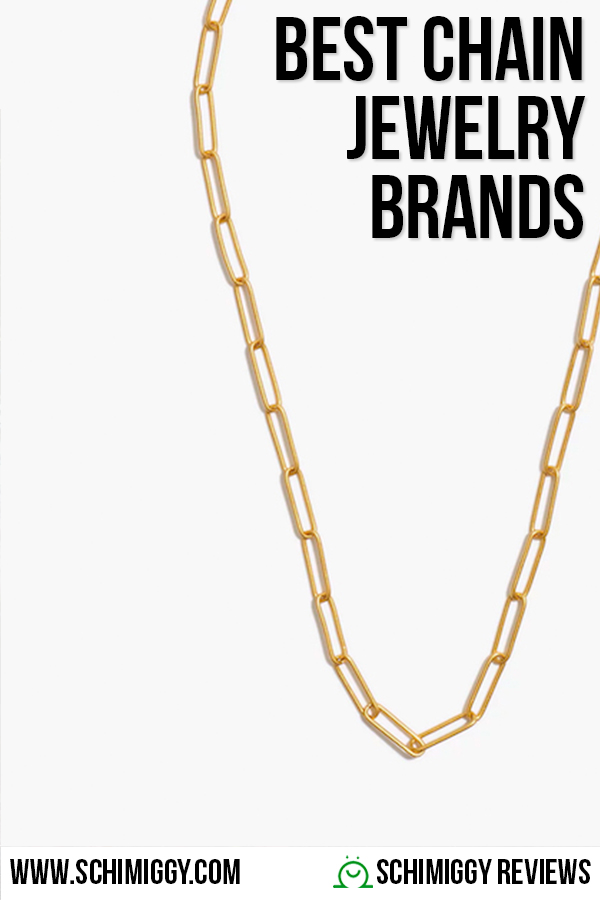 best chain necklace bracelet jewelry brands
