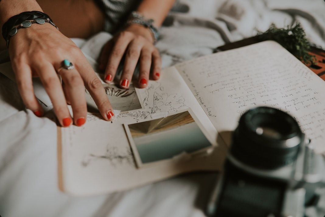 journaling and adding images and to your diary