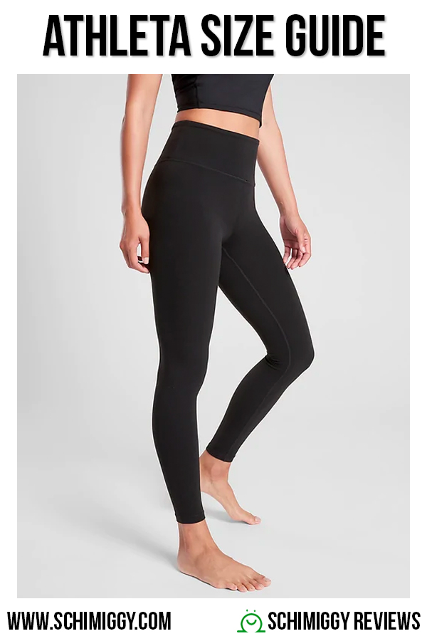 Athleta Size Guide for Women
