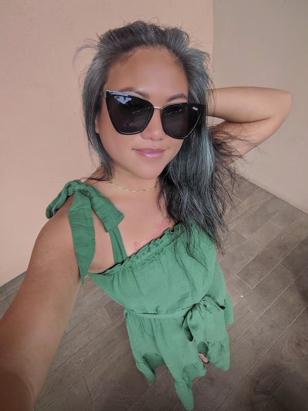 Outerknown Review Oasis Green Dress